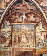 Madonna and Child Surrounded by Saints sd GOZZOLI, Benozzo